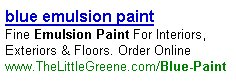 Blue Emulsion Paint Pay Per Click Advert