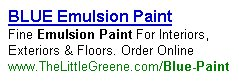 """BLUE Emulsion Paint"" Pay Per Click Advert"