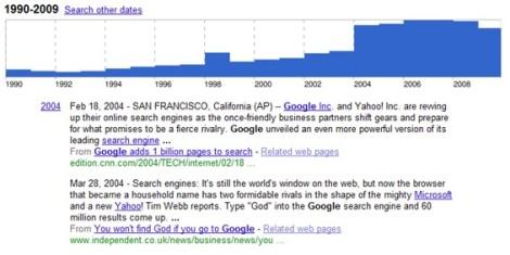 timeline-for-google