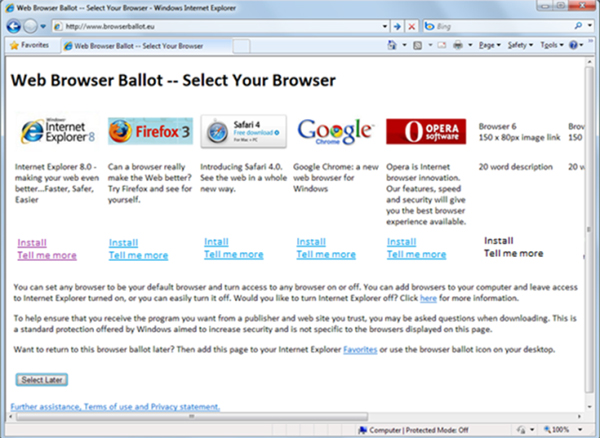 Microsoft Browser