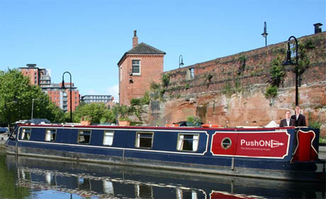 pushon canal boat