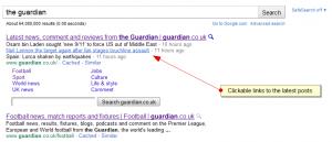 Google Clickable META Descriptions