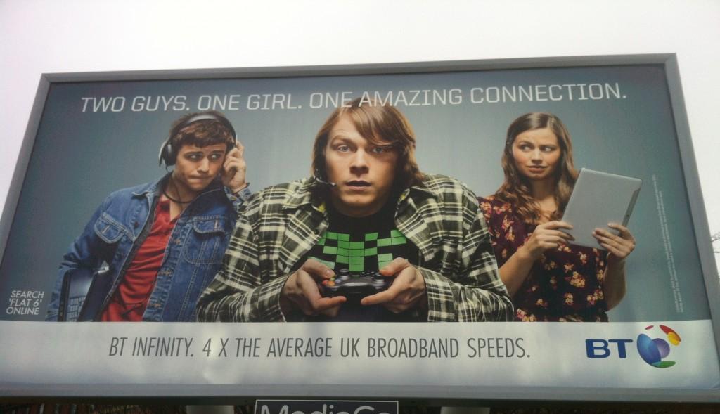 BT Flat 6 Billboard