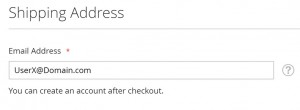 Assumed Guest Checkout