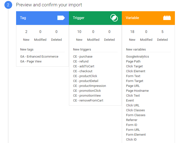 feecdaaad68b22 Magento 2.0 Guide  Google Analytics   Google Tag Manager Setup