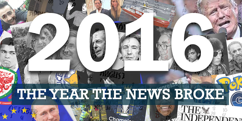 2016: The Year the News Broke