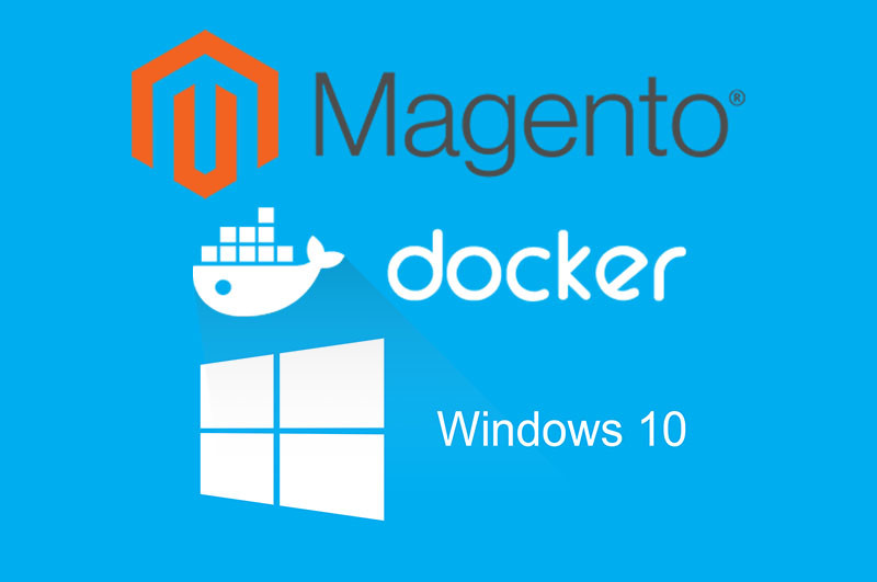 Setting up Magento 2 with Docker on Windows 10