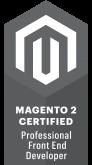 Magento 2 Certified Professional Front End Developer Badge