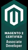 Magento 2 Certified Associate Developer Badge