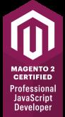 Magento 2 Certified Professional JavaScript Developer Badge
