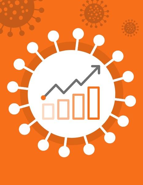 Coronavirus Growth Mapped Against Increased Internet Traffic