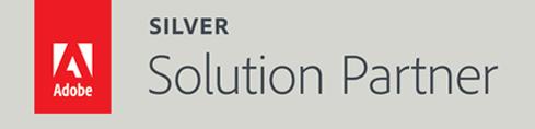 Adobe Silver Solution Partner badge