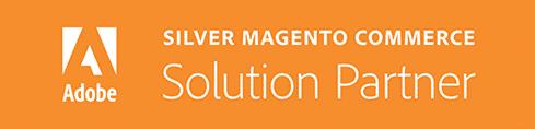 Silver Magento Commerce Solution Partner Badge