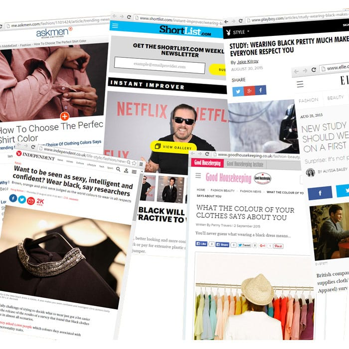 Several examples of publicity in publications
