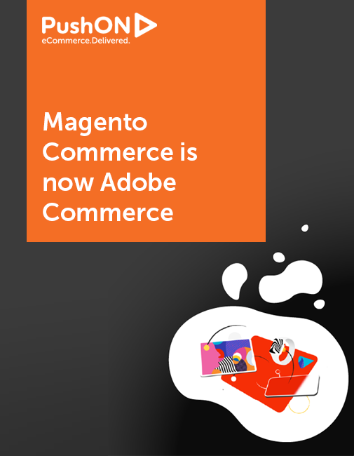 """Header image reading """"Magento Commerce is now Adobe Commerce"""""""