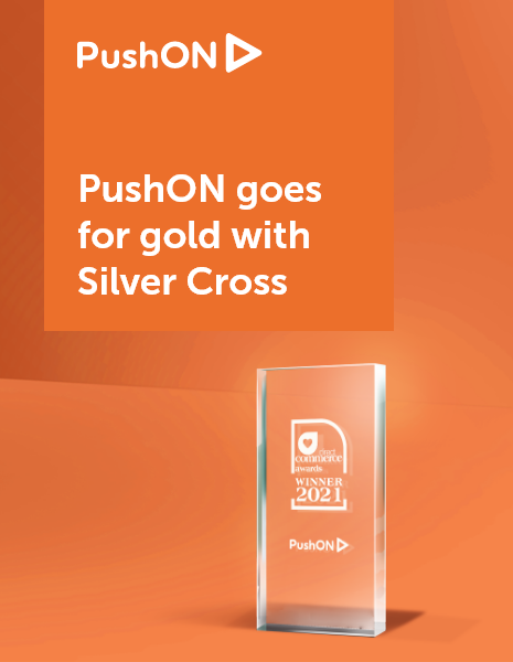 Direct Commerce Award Winner with PushON and Silver Cross