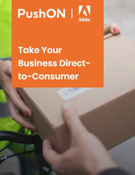 """Header image reading """"Take Your Business Direct to Consumer"""""""
