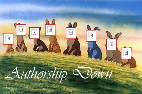 authorship down