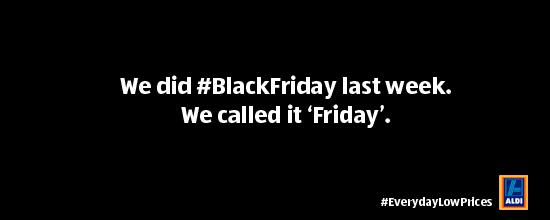 Aldi Black Friday