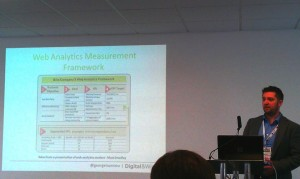Web analytics measurement framework