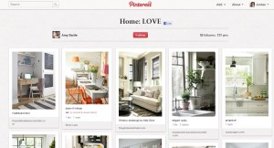 Pinterest Home Board