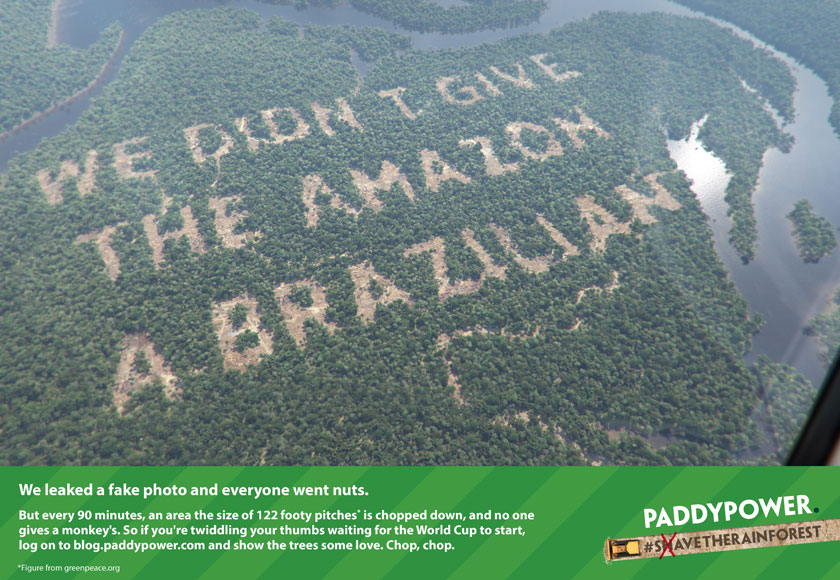Paddy Power - Reveal