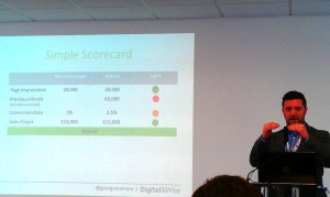 Web Analytics Simple Scorecard