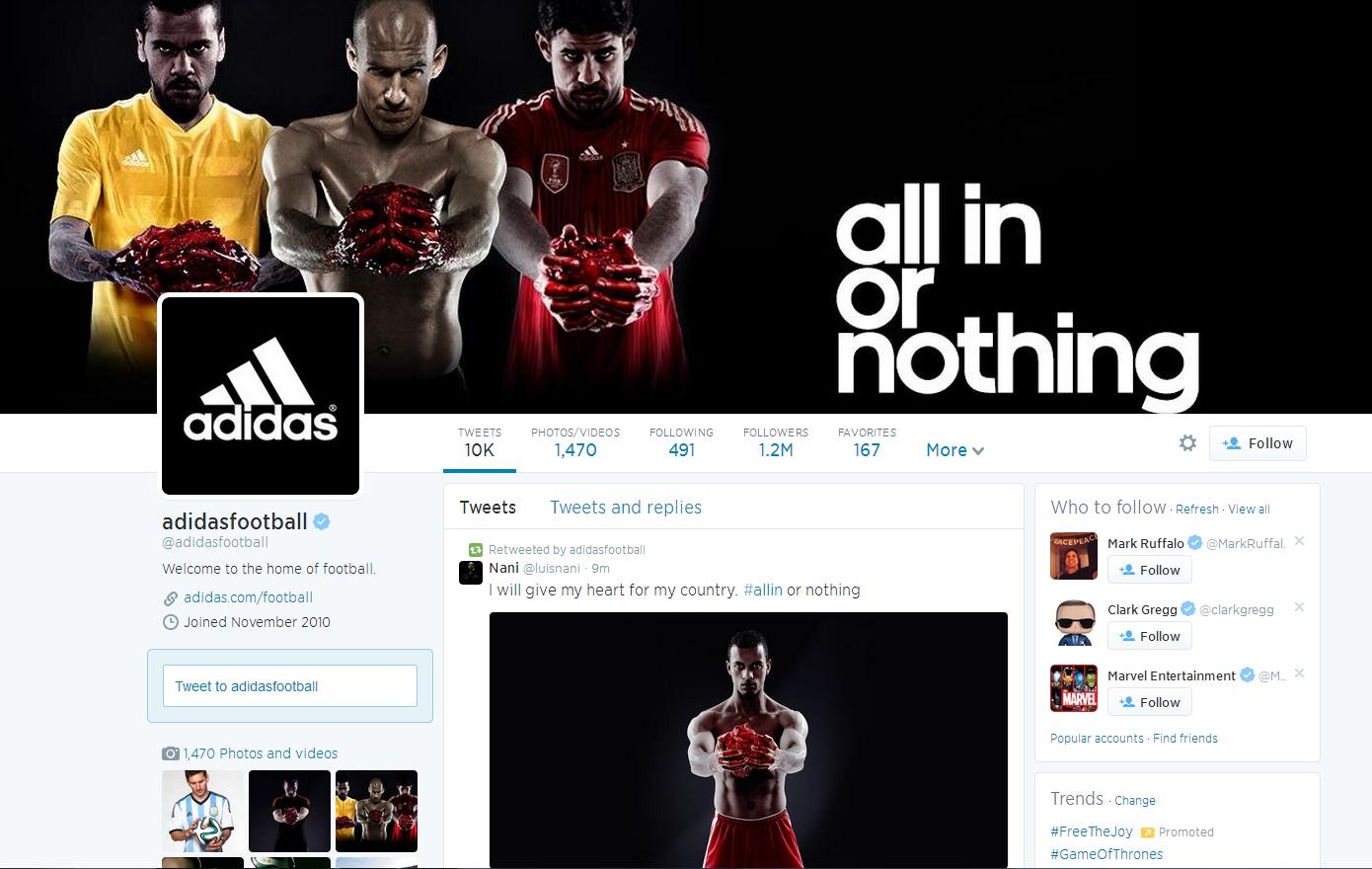 Adidas #Allin
