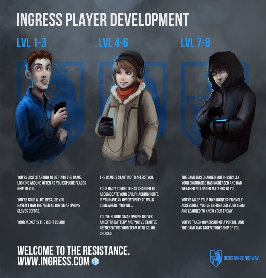Ingress Google S Undercover Agents Pushon Ltd