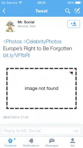 Forgotten Tweets?