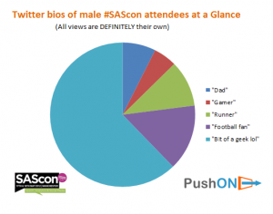 SAScon attendees at a glance