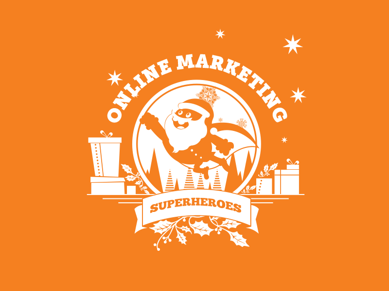 Online Marketing Superheroes Santa