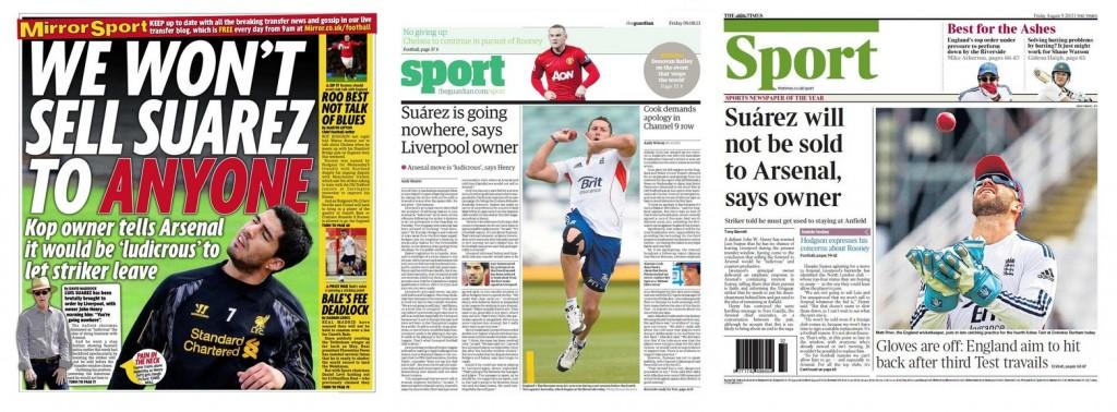 Suarez Headlines