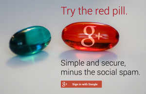 Google+ Sign-In: Try the red pill